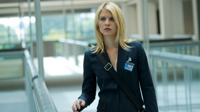 Claire Danes als Carrie Mathison in 'Homeland'.