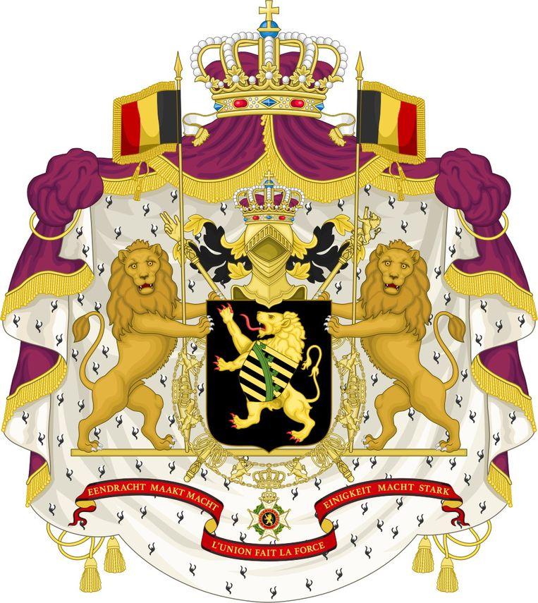 Wapenschild koningshuis Beeld RV