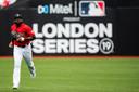 Jackie Bradley van Boston Red Sox.