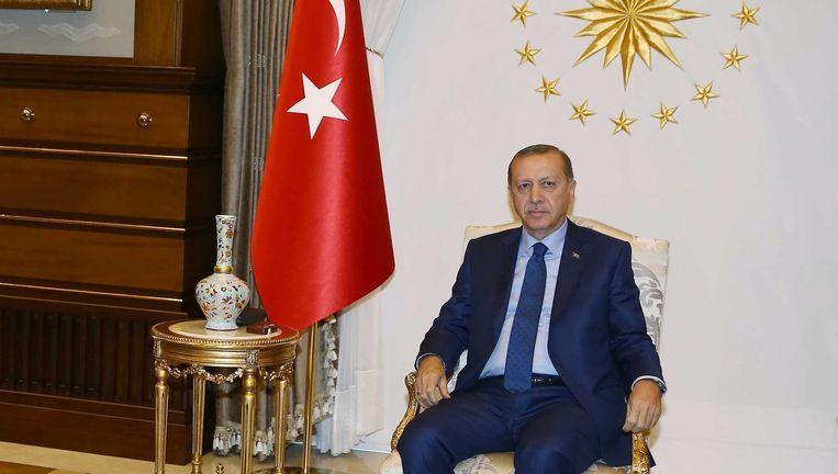 De Turkse president Erdogan Beeld EPA