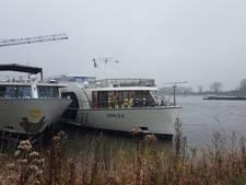 Brand op schip Amalea bij Gendt