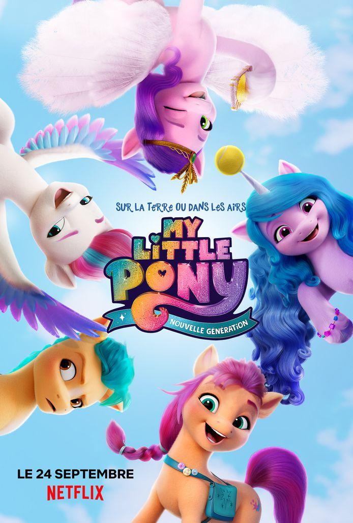 My Little Pony: nouvelle génération débarque aujourd'hui sur Netflix.