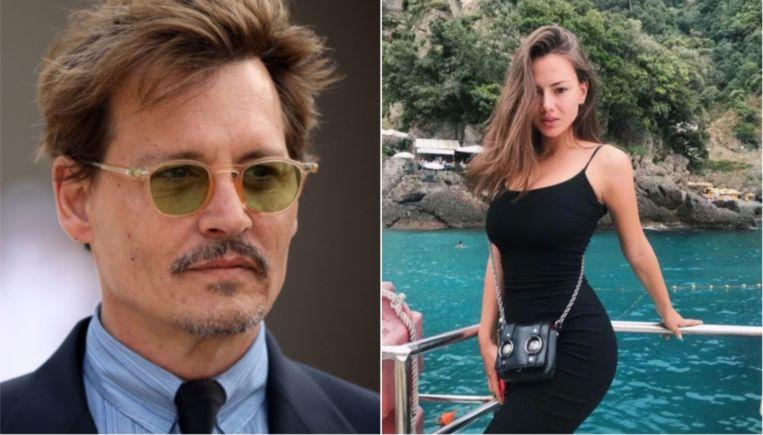 Is dit de toekomstige nieuwe echtgenote van Johnny Depp?