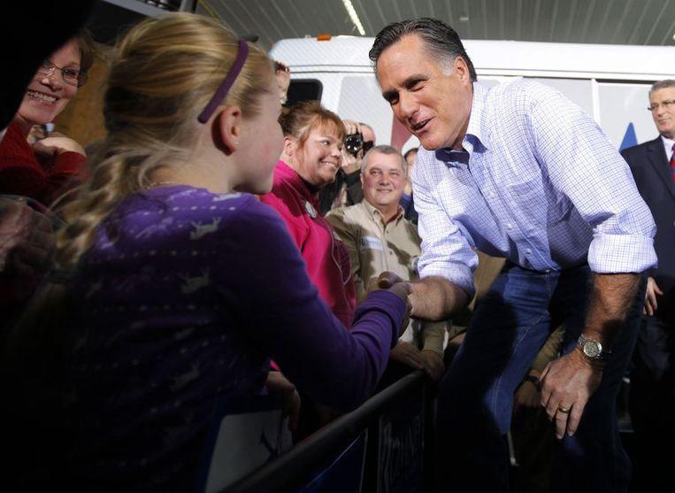 Mitt Romney. Beeld REUTERS