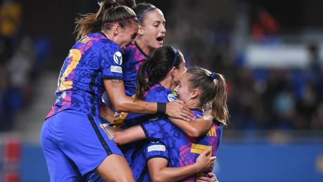 Scorende Lieke Martens met Barcelona veel te sterk voor Vivianne Miedema's Arsenal