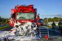 Vrachtwagenchauffeur overleden na ongeval op A59.