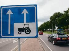Rijksstraatweg tussen Twello en Deventer op de schop: tractorbaan wordt verwijderd