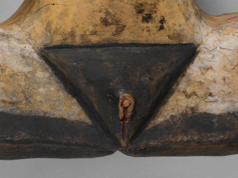 Detail van dilukai.   Beeld Metropolitan Museum New York