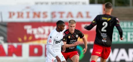 Feyenoord-huurling Sondre Skogen redt een punt voor Excelsior bij Telstar