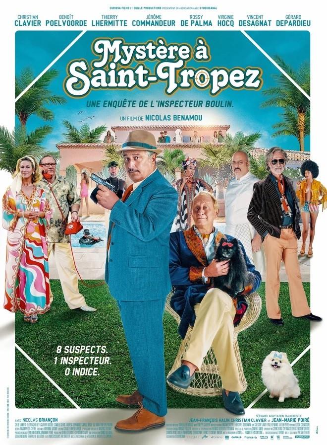 """Christian Clavier, Benoît Poelvoorde et Gérard Depardieu, casting XXL pour """"Mystère à Saint-Tropez""""."""