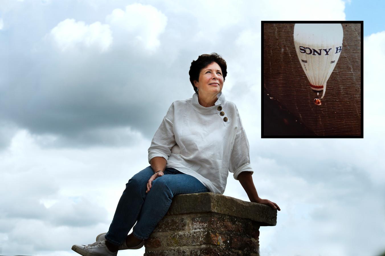 Evelien Schlösser uit Rijswijk, gemeente Buren, vloog als eerste vrouw ooit met een luchtballon de Atlantische Oceaan over. In iets meer dan 51 uur overbrugde ze dik 4.000 kilometer: van Canada naar Nederland.