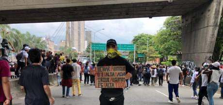 Nijmegenaar Yino vanuit Colombia: 'Uit het niets vuurde politie traangasgranaten op ons af'