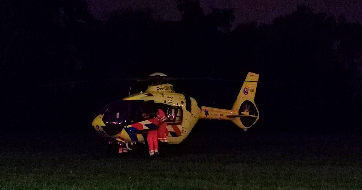 Traumaheli landt in Ede na ongeval op treinstation: slachtoffer naar ziekenhuis, twee uur geen treinen.