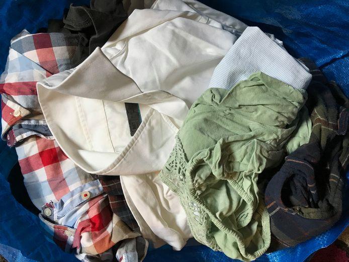 Oude kleding verdwijnt nu nog vaak in de grijze bak