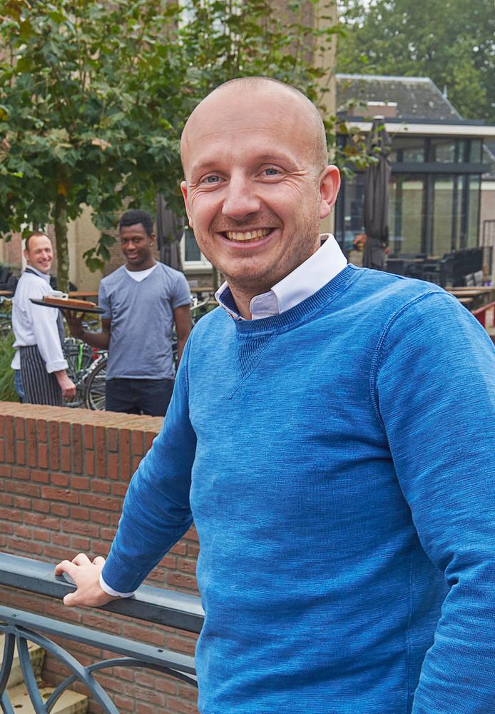 Foto bij het vistrapje aan de Aa te Veghel.
