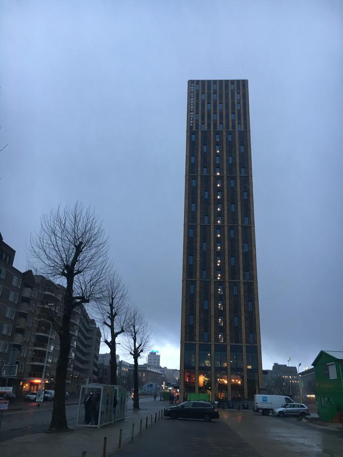 The Student Hotel aan de Stationsweg in Eindhoven.