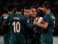 Arm Spakenburg: Ajax verloor nooit van amateurs en maakt gemiddeld meer dan vijf goals
