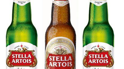 """Stella Artois zit vanaf nu in een """"luxueus"""" groen flesje"""