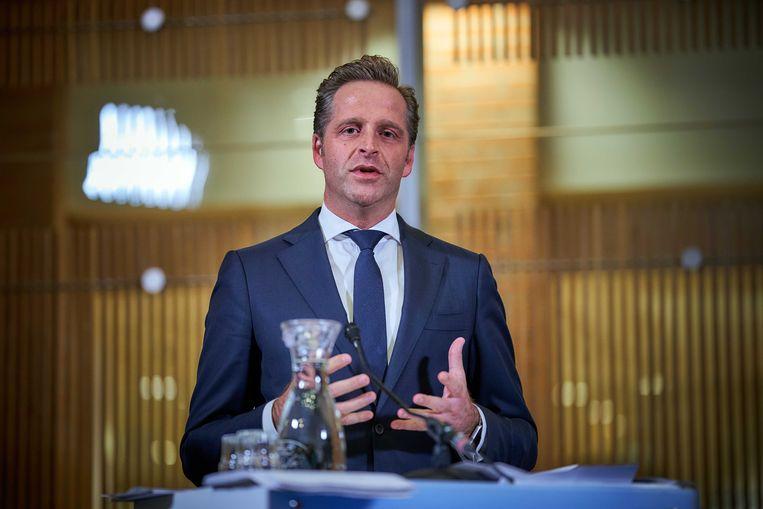 Minister Hugo de Jonge van Volksgezondheid.  Beeld ANP