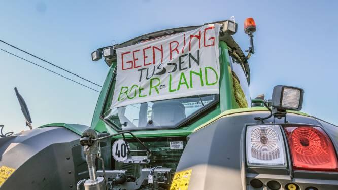 75 landbouwvoertuigen in protestmars tegen ring rond Anzegem