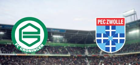 FC Groningen en PEC Zwolle op zoek naar zege na matige seizoensstart