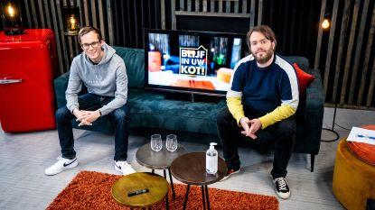 VTM en Qmusic beantwoorden vragen en brengen groetjes over in liveshow 'Blijf in uw kot!'