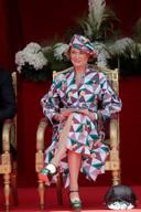 La princesse Delphine a assisté pour la première fois aux festivités officieilles du 21 juillet.