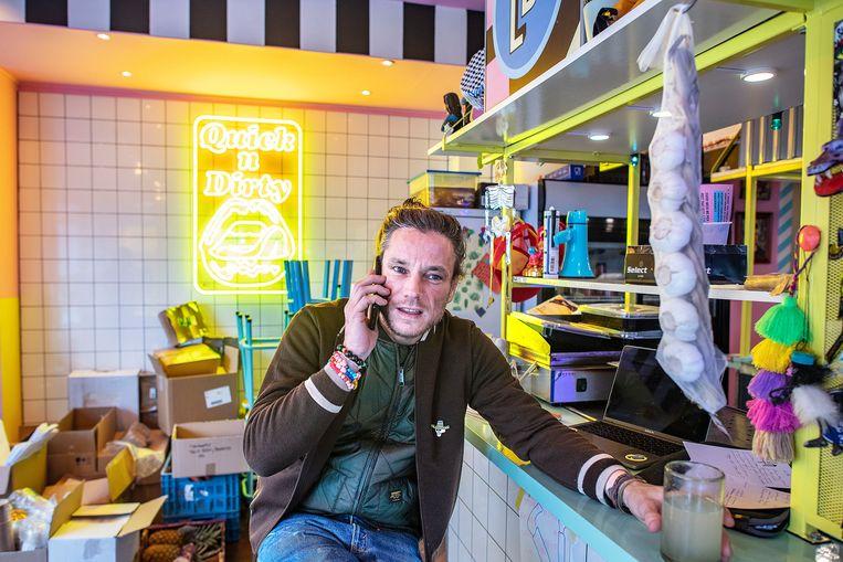 Jeroen Lens. Beeld Guus Dubbelman / de Volkskrant