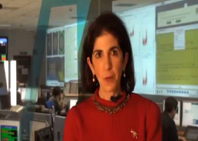 CERN-directeur Fabiola Gianotti wordt genoemd als kanshebber voor de post van overgangspremier in Italië.