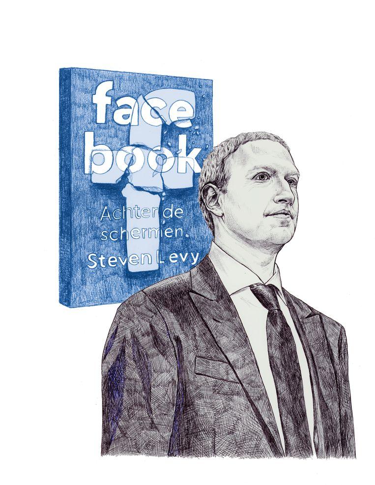 Mark Zuckerberg en het nieuwe boek van Steven Levy: Facebook Beeld Ted Struwer