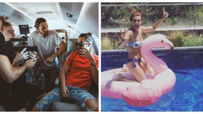 SHOWBITS. Dimitri Vegas waagt zich aan filmregie en Katja Retsin bevaart een flamingo