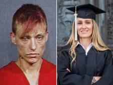 48-jarige vrouw raakte op haar 12de verslaafd aan harddrugs en studeert nu af aan de universiteit