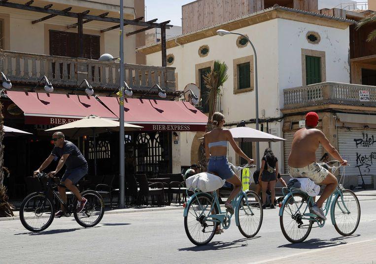 Uitgaansgebied in El Arenal op Mallorca.  Beeld ANP
