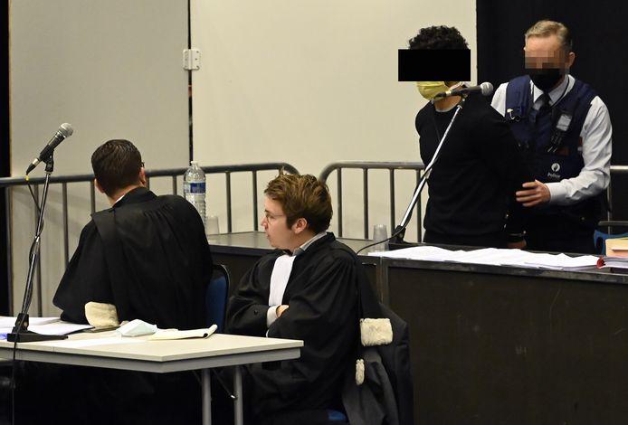Le procès de H.D. se déroule au Palais des Congrès de Liège.