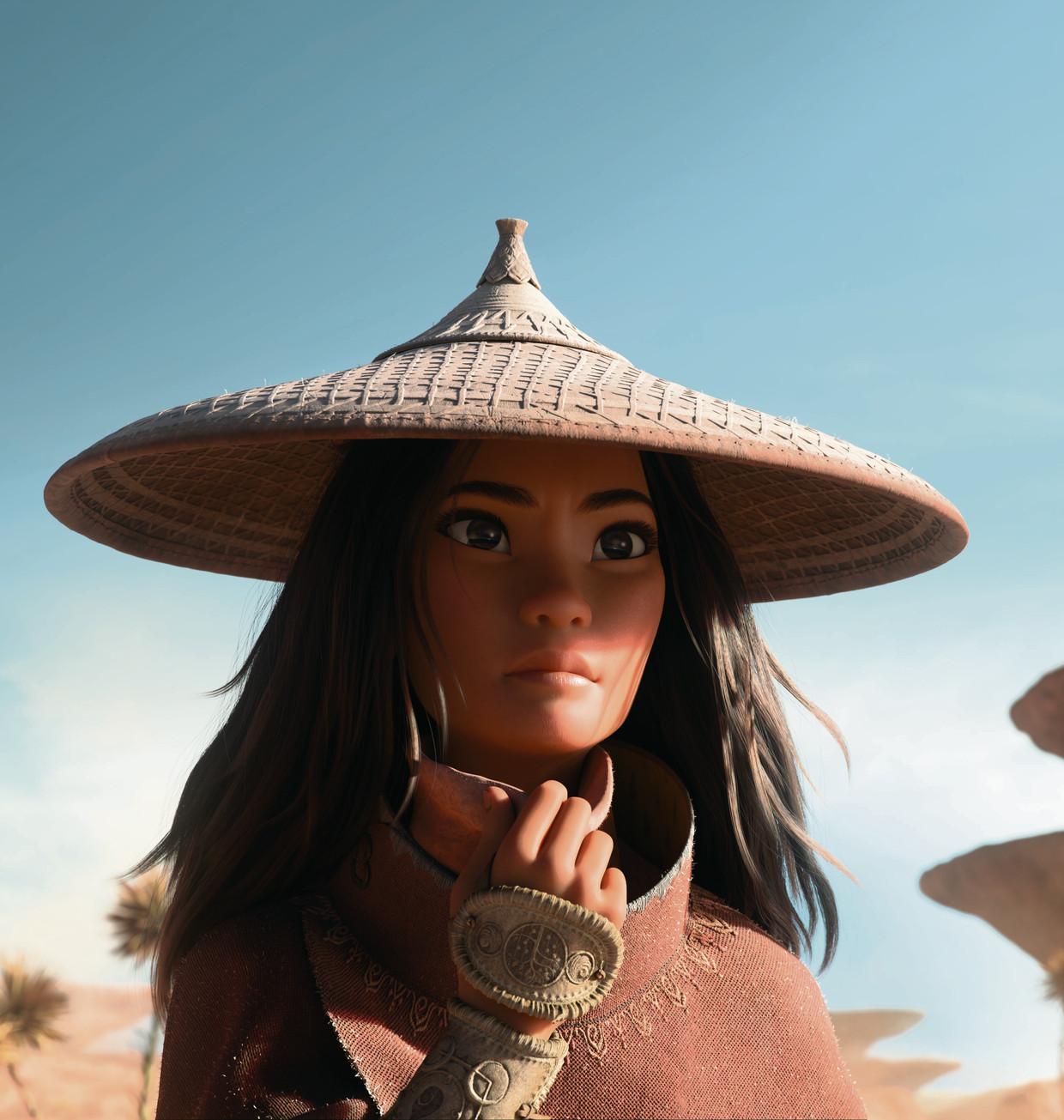 Raya is Disneys dertiende prinses en de eerste Zuidoost-Aziatische prinses. Beeld Disney