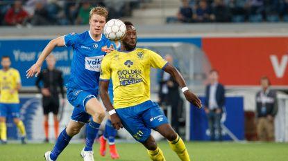 LIVE. Thoelen staat in doel bij Buffalo's: STVV en AA Gent strijden om plek in halve finale Croky Cup