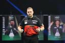Dimitri Van den Bergh speelde gelijk tegen James Wade.