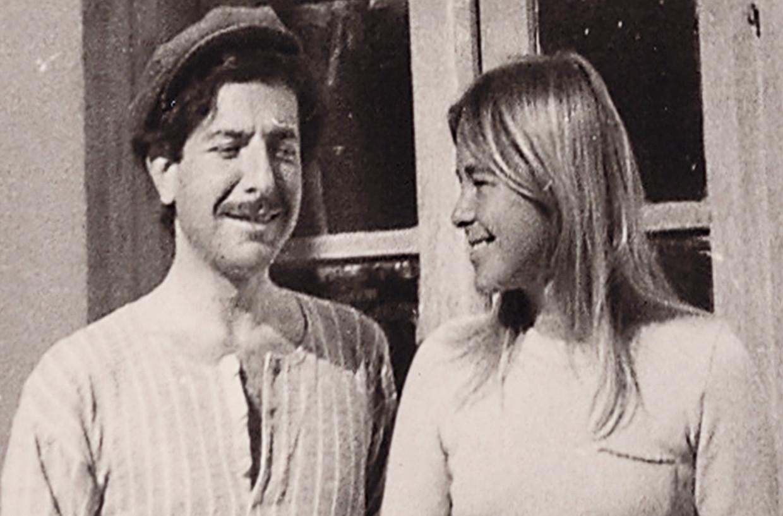 Leonard Cohen en de Noorse Marianne Ihlen.