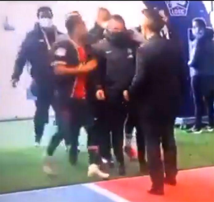 Ambiance tendue entre Neymar et Tiago Djalo