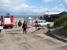 Brand in strandpaviljoen Renesse geblust