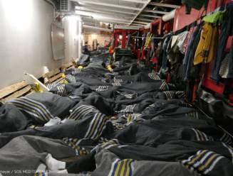 Bijna 500 migranten op Middellandse Zee in veiligheid gebracht