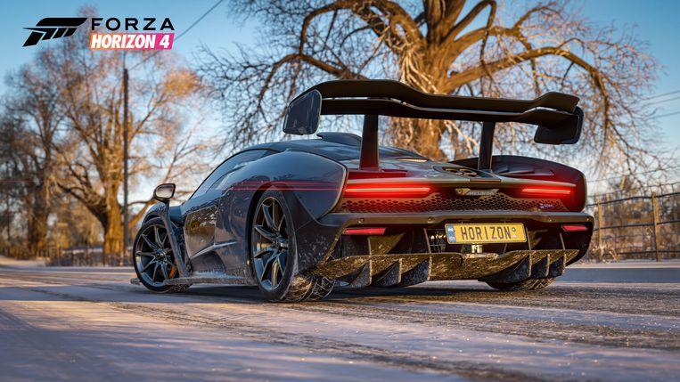 De setting van de nieuwe 'Forza Horizon' is deze keer het Britse platteland. Beeld Microsoft