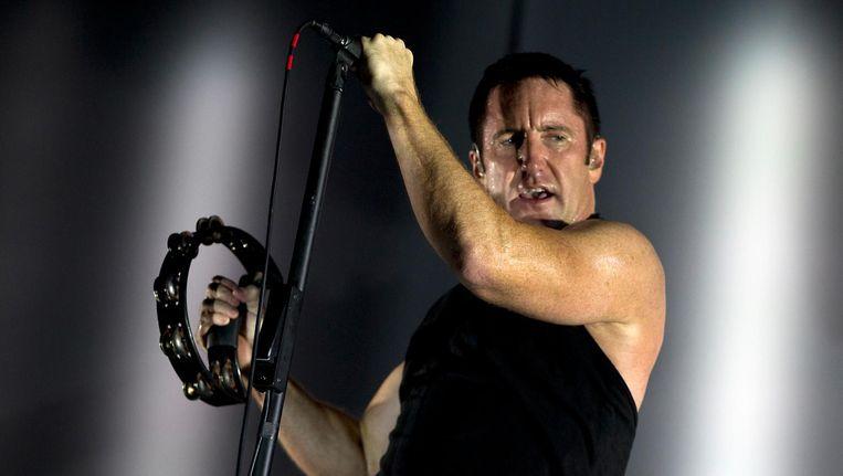 Afgezien van Trent Reznor als zanger, blijft eigenlijk niets in de samenstelling lang hetzelfde. Beeld anp