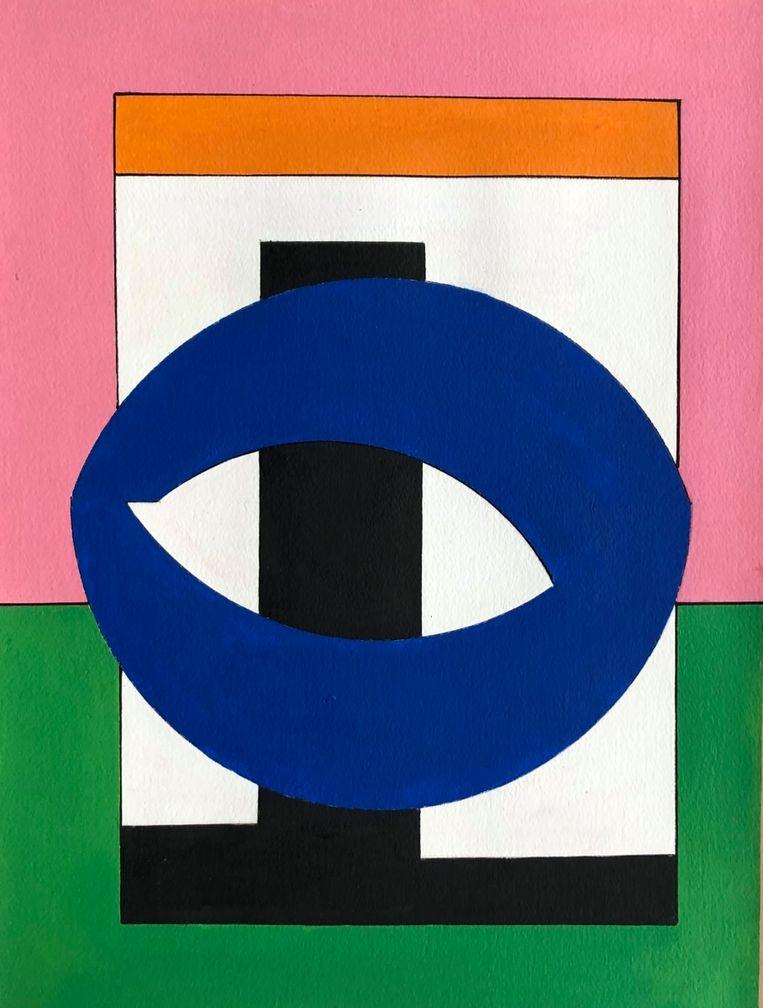 Guy Vandenbranden - Composition (2000), Callewaert Vanlangendonck Gallery Beeld GalleryViewer