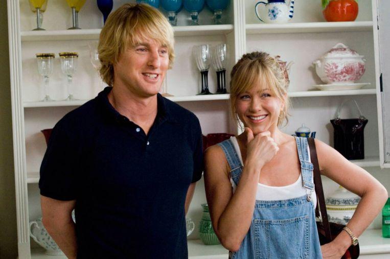 Owen Wilson en Jennifer Aniston in 'Marley & Me'. Beeld rv