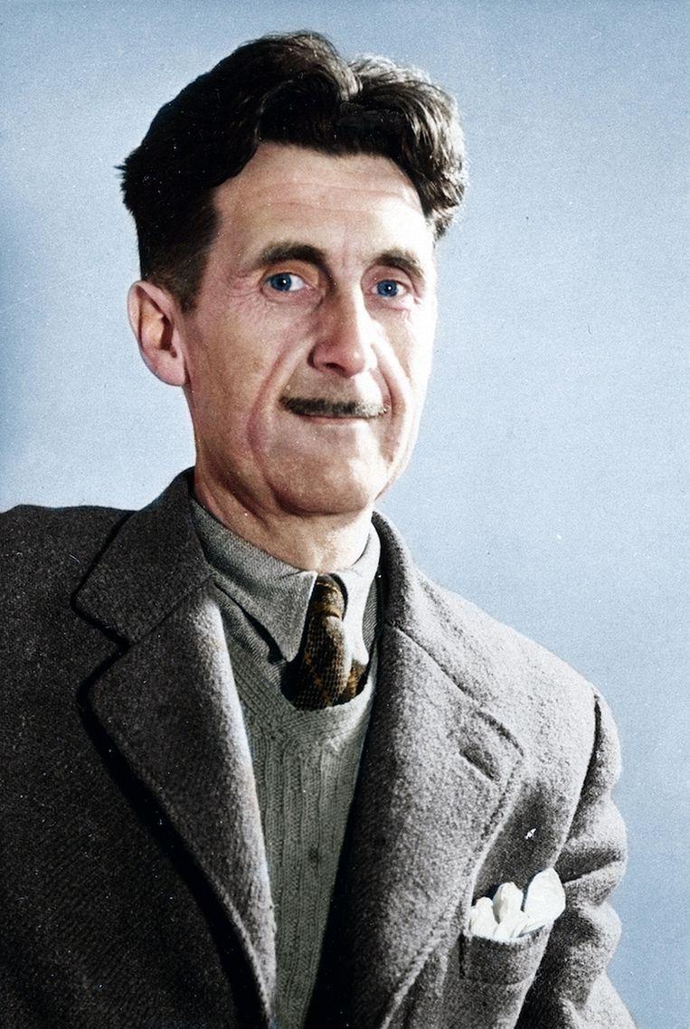 Eric Arthur Blair (1903-1950), beter bekend onder zijn pseudoniem George Orwell. Beeld www.bridgemanimages.com