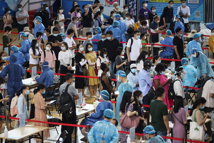 Alle 9,3 miljoen inwoners van Nanjing moeten nu getest worden.