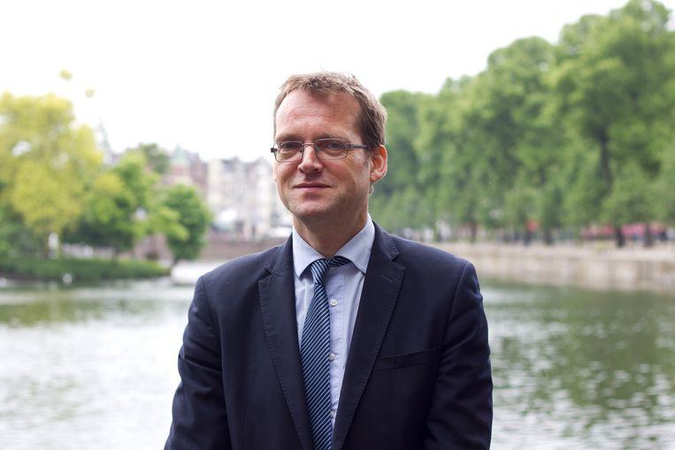 Hoogleraar pensioenrecht Hans van Meerten, die juridische bezwaren ziet bij de overgang naar een nieuw pensioenstelsel. Beeld