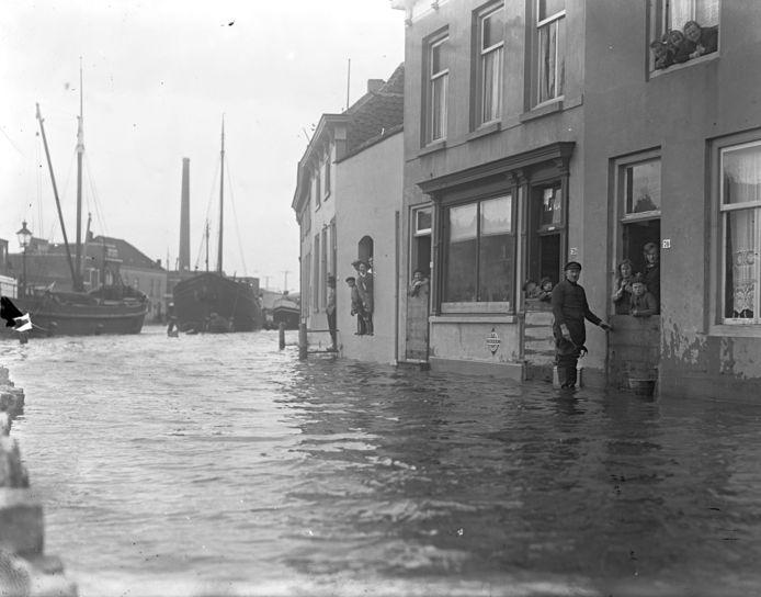 Overstroming in 1931.