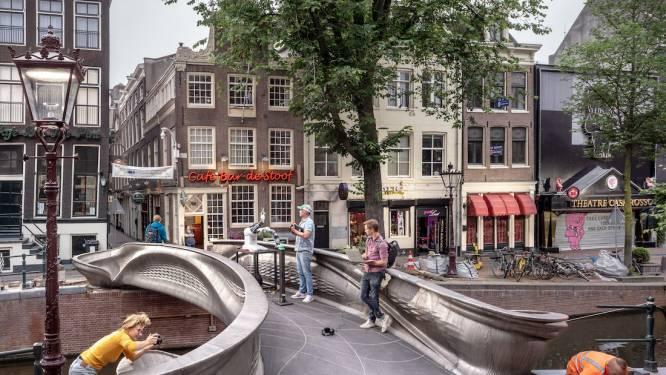 Un pont en acier imprimé en 3D à Amsterdam